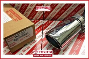2005 2019 Toyota Tacoma Chrome Exhaust Tip Genuine Oem Pt932 35162 Fast Ship