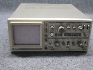 Goldstar Oscilloscope os 9020g 20mhz W Frequency Generator tested Working