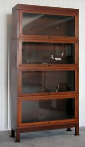 Globe Wernicke 4 Stack 1910 Bookcase Truly In Ex Condition Check This Out