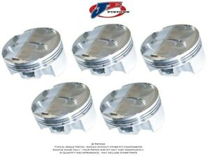 Je Forged Piston 194945 Small Block Chevy 400 4 155 Bore 3 800 Stroke Left Side