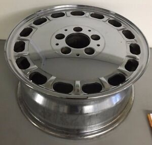 86 87 88 89 Mercedes 300d 420 560 Oem Wheel Rim Chrome 65139 1264003002 15x7