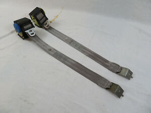 1990 1993 Ford Mustang Hatchback Or Coupe Rear Seat Belts Oem Titanium Gray