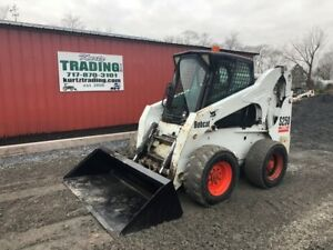 2002 Bobcat S250 Skid Steer Loader With Cab