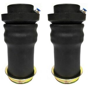 2 Pcs Universal Tapered Air Bag Sleeve For Air Strut Air Lift Ride Suspension