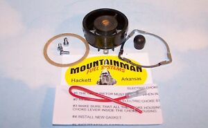Electric Choke Kit With Connector For Motorcraft Ford 2100 2150 Carburetor