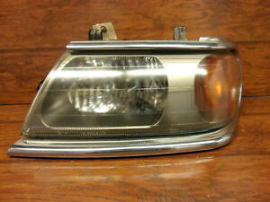 Left Driver Headlight Mitsubishi Montero Sport 2000 2001 2002 2003 2004
