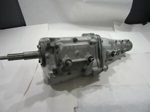 1968 M20 Muncie 4 Speed Transmission Gm 2 52 1st 10 27 Spline Wide Ratio