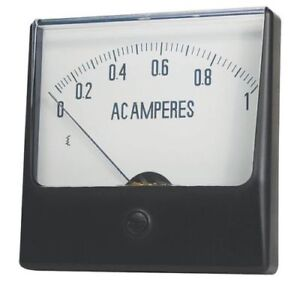 Analog Panel Meter dc Current 0 50 Dc 12g422