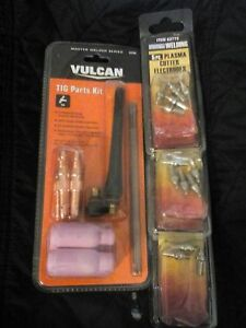 Vulcan Tig Welding Kit And Chicago Electric Welding 5 Pc Plasma Cutter
