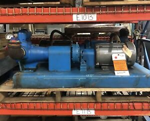 Viking Ak4195 Displacement Pump 2 5 Port Baldor 3 Hp Motor W gear Reducer