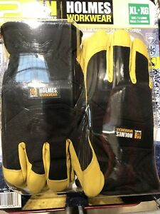 Mike Holmes Workwear Goatskin Winter Gloves 2 Pairs New Xtra Large
