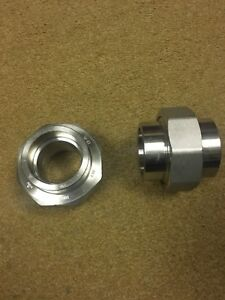 2 3m 304 Ss Stainless Steel Socket Weld Union 3000 New