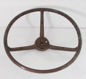 Vintage 15 Steering Wheel Rat Rod Muscle Car