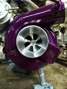 Wrx Forester Baja Subaru Rebuilt Ported And Polished Turbo W Billet Td04l