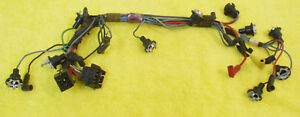 1968 Mustang Fastback Coupe Gt Cs Convertible Orig Gauge Cluster Wiring Harness
