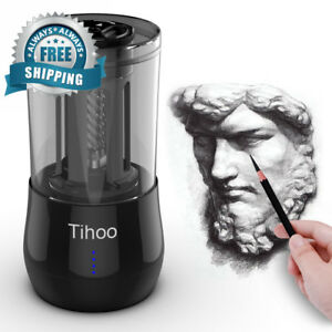 Tihoo Electric Professional Sketch Pencil Sharpener Automatic Fast Work 3