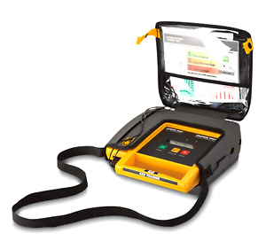 Physio Control medtronic Lifepak 500t Aed Trainer W Carry Case 11250 000096
