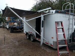 2009 Cargo Craft 7x16 Expedition Enclosed Trailer W Generator And More
