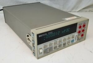 Hp 34401a 6 Digit Digital Multimeter Agilent