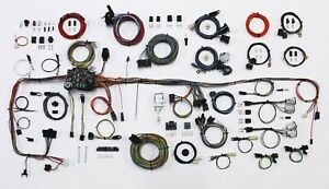 1983 87 Chevy C10 K10 Truck American Autowire Classic Update Wire Harness Kit