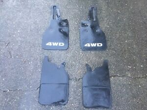 1990 1995 Toyota Factory Oem 4 Mud Flaps 4wd Both Left Right Front Rear 92