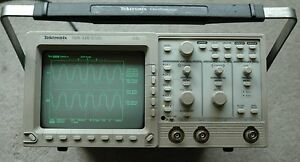 Tektronix Tds320 100mhz Digital Oscilloscope Calibrated Two Probes Power Cord