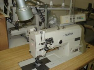 Industrial Sewing Machine Brother Model Lt2 B842 905 In Excellent Condition