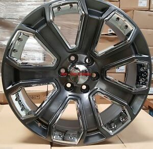 New Factory Take off Tires Wheels From 2018 Chevy Tahoe denver Co