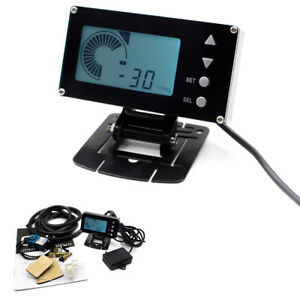 Universal Lcd Displaying Evc Electronic Valve Turbo Boost Controller Monitor