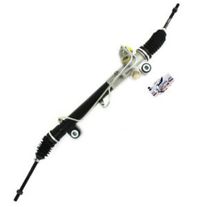 For Mustang Ii 2 Power Steering Rack Pinion Street Rod W Bushings Ss U Joint