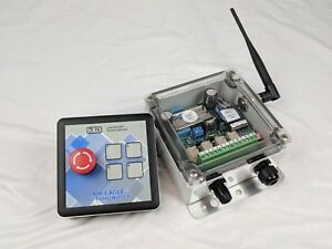 Bwi Eagle 38p 2 estop dc Receiver Transmitter Safety Failsafe Stop Rf