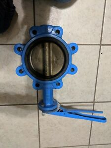 Watts 6 Butterfly Valve W Handle New