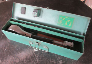 Federal Bore Gauge Gage In Box Model 1250p Resolution 0001 Free Shipping