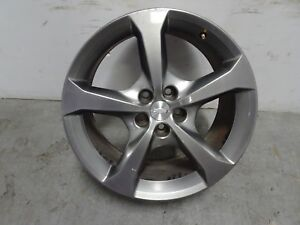 10 15 Chevy Camaro Ss Rear 20x9 Rim Wheel Factory Oem Gm 9599043 Grey Chrome
