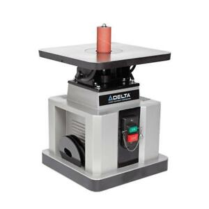 Delta Heavy Duty Bench Oscillating Spindle Sander With Tilt Table 1 2 Hp