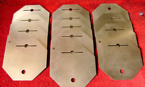 Hho Parts 13 Plates For Dry Cell Kit Hydrogen Generator Inox 316l