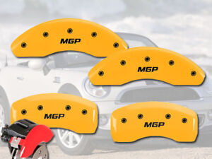 2015 Mini Cooper Front Rear Yellow Mgp Brake Caliper Covers R55 R56 R57 F56