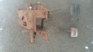 1964 1965 1966 Chevy Truck Hydraulic Clutch Brake Pedals Assembly Muncie Oe