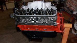 Mopar 340 Dodge 4 Eagle Stroke Crank Crate Motor Long Block Ported La Heads