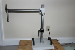 Diagnostic Instruments Heavy Duty Microscope Boom Stand 25mm Mount Wild M5a