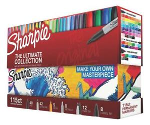 Sharpie 1983255 Permanent Markers Ultimate Collection Fine And Ultra Fine Point