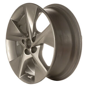 69605 Refinished Oe 18in Aluminum Wheel Fits 2012 2014 Toyota Camry Charcoal