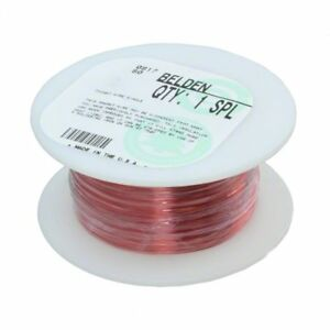 Magnet Wire 254ft 22awg Copper Pu Insulation Belden Pn 8051