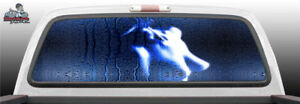 Sexy Nude Shower Glass Woman Naked Rear Window Graphic Decal Suv Truck Car Perf