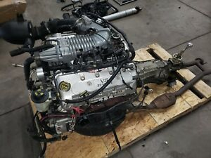 2003 Mustang Cobra 4 6 Supercharged Engine Dohc Drivetrain T56 Transmission