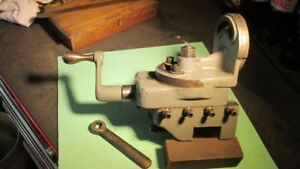 South Bend 9 10k Lathe Milling Attachment great Condition