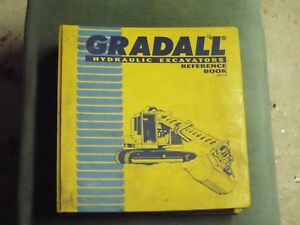 Gradall Manuals M2460 g600 Hyd Excavator 2460 1950 Reference