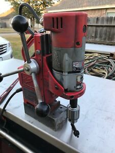 Milwaukee 1 2 Electro Magnetic Drill Press 4270 20 120v 600 Rpm Forward Only