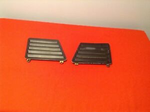 85 92 Pontiac Trans Am Hood Scoops Vent Louver Pair Set Left Right Gta Firebird
