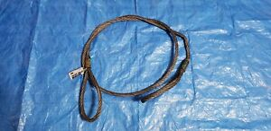 10ft Wire Rope Sling 5 8 Thick 6x37 Iwrc